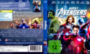The Avengers (2012) R2 Blu-Ray German DVD Cover
