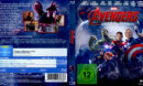 The Avengers 2 - Age of Ultron (2015) R2 Blu-Ray German DVD Cover