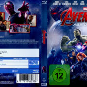 The Avengers 2 – Age of Ultron (2015) R2 Blu-Ray German DVD Cover