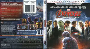 avengers age of ultron blu-ray dvd cover