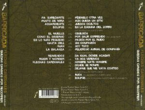 barricada back cd cover