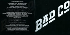 Bad Company - Bad Company (Deluxe Edition) - Booklet (1-10)