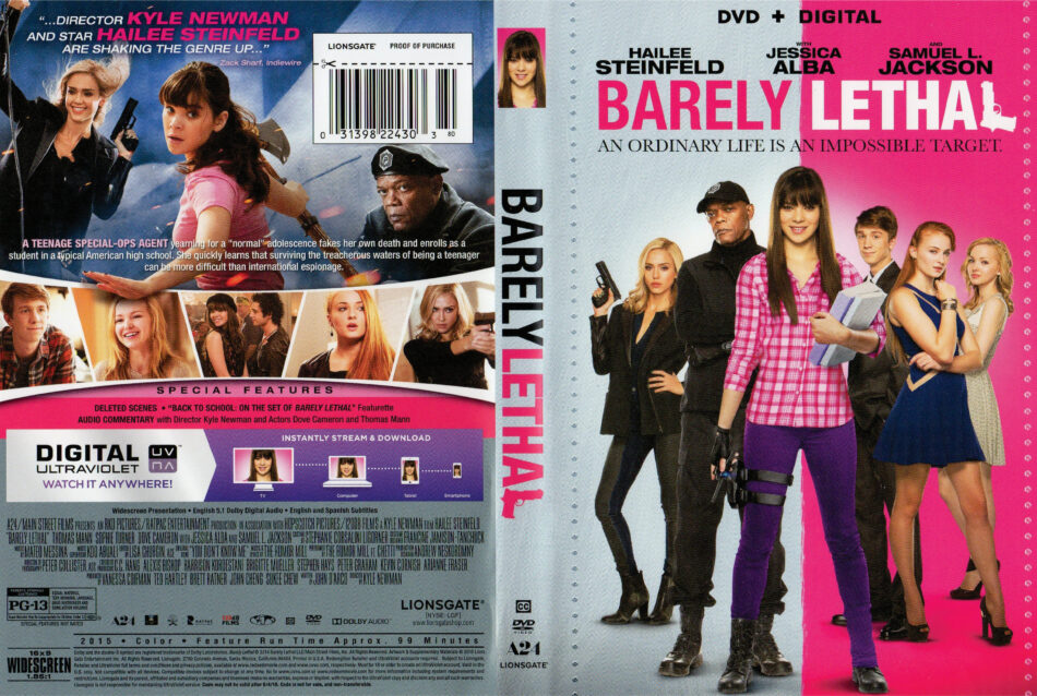 barely lethal dvd cover