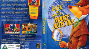 Basil The Great Mouse Detective dvd cover