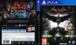 Batman Arkham Knight (2015) Pal PS4 DVD Cover