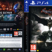 Batman Arkham Knight (2015) Pal PS4 DVD Cover