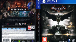 Batman - Arkham Knight dvd cover