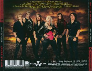 Battle Beast - Unholy Savior - Back
