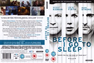 Before I Go To Sleep (2014) R2 Cover