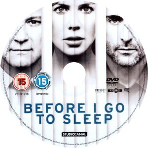 Before I Go To Sleep (2014) R2 Label