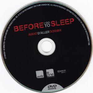 Before I Go To Sleep (Avant d´Aller Dormir) (Canada) - DVD