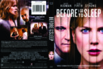 Before I Go To Sleep (2014) R1 DVD Cover