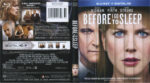 Before I Go To Sleep (2015) Blu-Ray DVD Cover & Label
