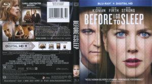 BeforeIGo To Sleep blu-ray dvd  cover