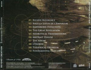 Beyond Creation - Earthborn Evolution (Russia) - Back