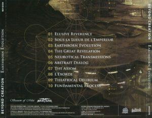 Beyond Creation - Earthborn Evolution (Russia) - Back