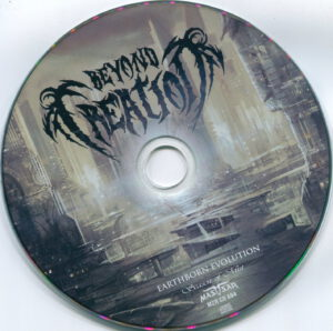 Beyond Creation - Earthborn Evolution (Russia) - CD