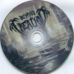 Beyond Creation - Earthborn Evolution (Russia) - CD