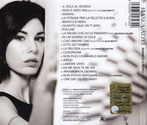 Bianca Atzei - Bianco E Nero - Back