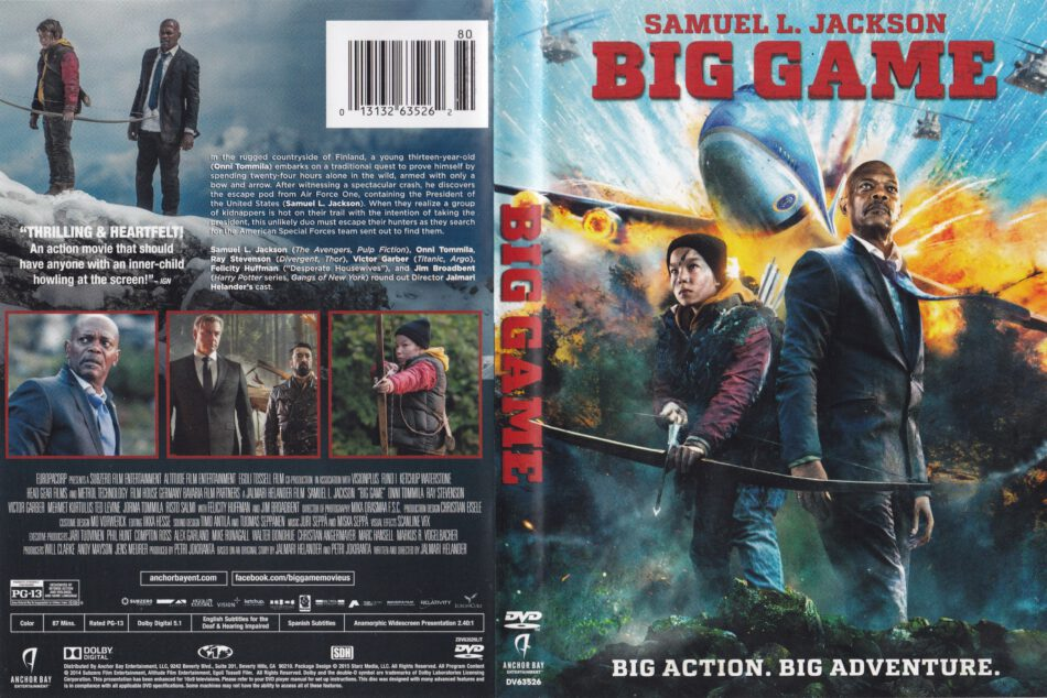 big game dvd cover