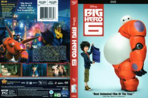 Big Hero 6 - Cover