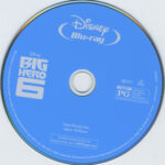 Big Hero 6 (2015) Blu Ray Label
