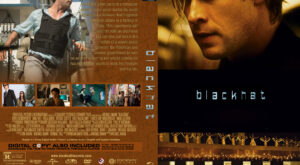 Blackhat Custom dvd Cover