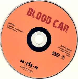 Blood Car - DVD