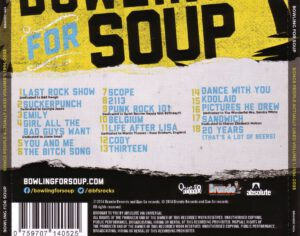 Bowling For Soup - Songs People Actually Liked Vol.01 - The First 10 Years (1994-2003) - Back