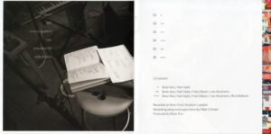 Brian Eno & Karl Hyde - High Life (Booklet 02)