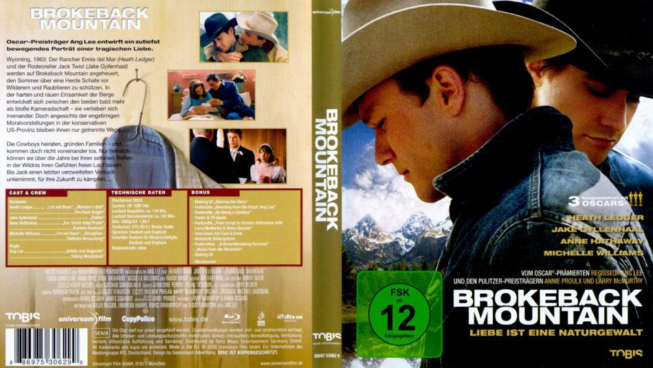 Brokeback Mountain Blu Ray Dvd Cover 2005 R2 German