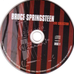 Bruce Springsteen - Live Collection - CD (1-3)