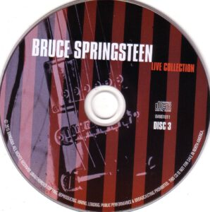 Bruce Springsteen - Live Collection - CD (3-3)