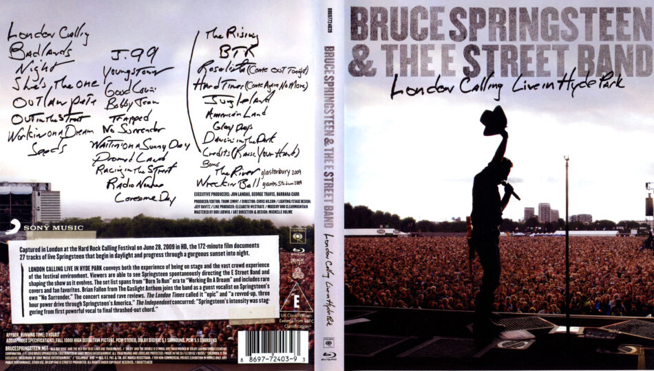 Bruce Springsteen - Chapter and Verse -   Music