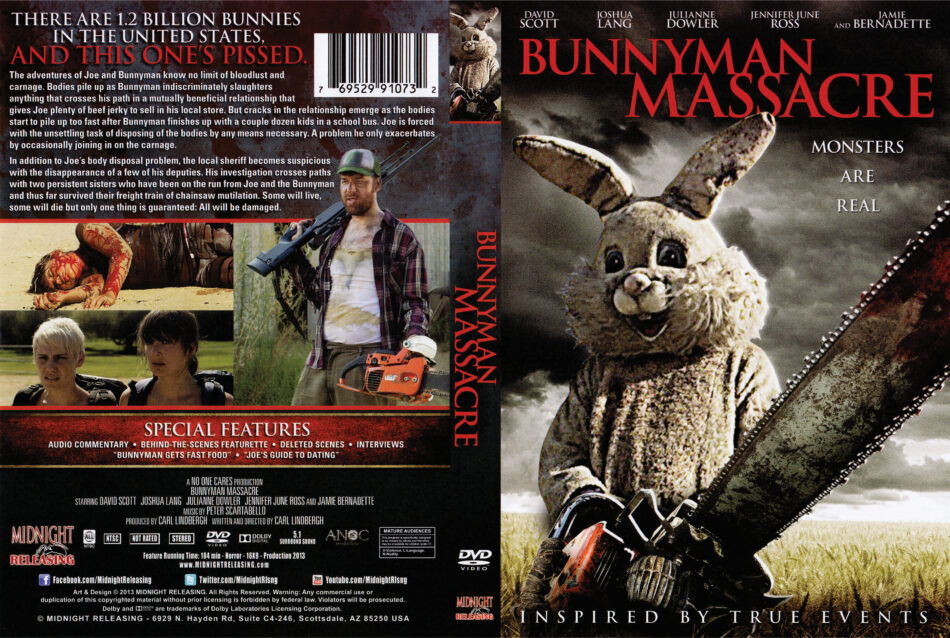 Bunnyman Massacre dvd cover