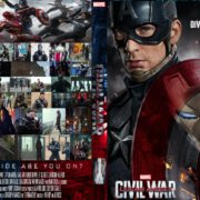 Captain America: Civil War (2016) Custom Dvd Cover