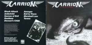 Carrion - Evil Is There! - Booklet (1-4)