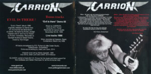 Carrion - Evil Is There! - Booklet (2-4)