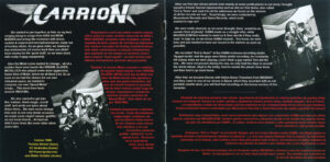 Carrion - Evil Is There! - Booklet (3-4)