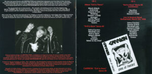 Carrion - Evil Is There! - Booklet (4-4)