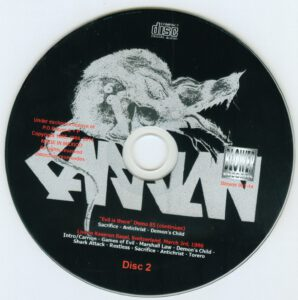 Carrion - Evil Is There! - CD (2-2)