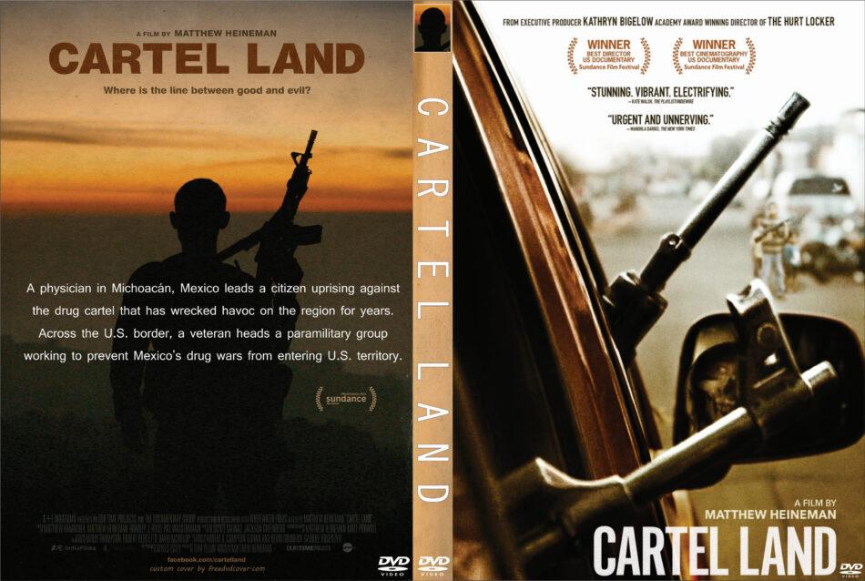 cartel land dvd cover