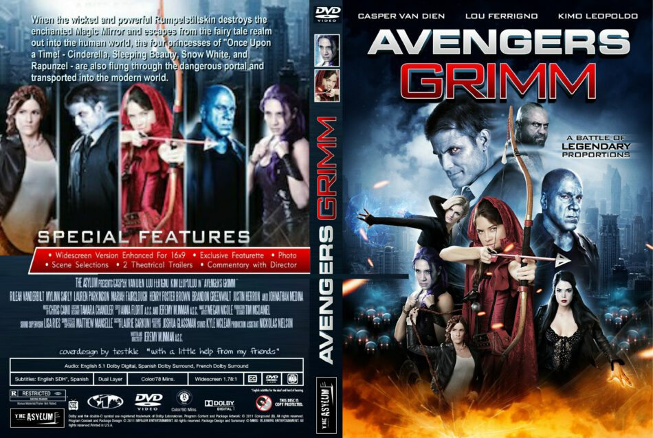 avengers grimm rated r