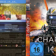 Chappie (2015) Blu-Ray German Cover