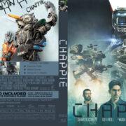 Chappie (2015) R0 Custom Blu-Ray Cover & Label