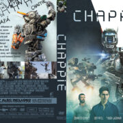 Chappie (2015) R0 Custom DVD Cover & Label