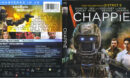 Chappie (2015) Blu-Ray DVD Cover & Label