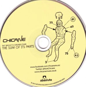 Chicane - The Whole Is Greater Than The Sum Of Its Parts - CD