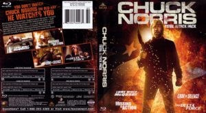 Chuck Norris - Total Attack Pack (Blu-Ray)