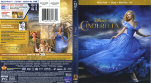 Cinderella 2015 blu-ray dvd cover